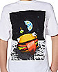 Kids Space Durrr Burger T Shirt - Fortnite