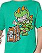 Boys Chibi Rex T Shirt - Fortnite