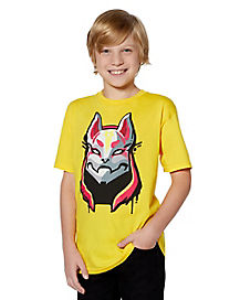 Kids Drift T Shirt - Fortnite