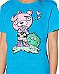 Girls Cuddle Team Leader Love T Shirt - Fortnite