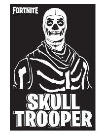 Skull Trooper Poster - Fortnite