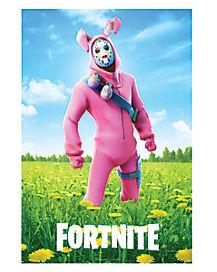 Rabbit Raider Poster - Fortnite