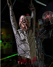 5.8 Ft Tortured Torso Constant Motion Animatronic - Decorations