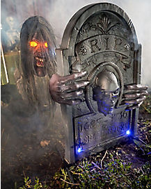 2.5 Ft Graveyard Ghoul Constant Motion Animatronic - Decorations