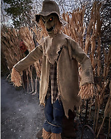 5.8 Ft Jack Straw Animatronic - Decorations