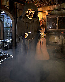 7 Ft The Collector Animatronic - Decorations