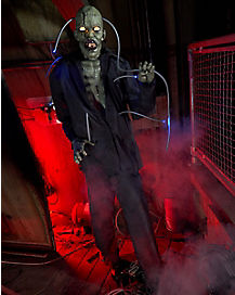 6 Ft Experimental Eddie Animatronic - Decorations