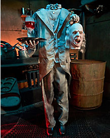5.4 Ft Headless Help Animatronic - Decorations