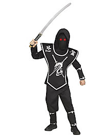 Kids Light-Up Eyes Ninja Costume