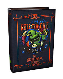 Simpsons Christmas Boogie.Oogie Boogie Storage Book Box The Nightmare Before