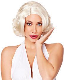 Blonde Glam Curls Wig