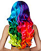 Neon Rainbow Curls Wig