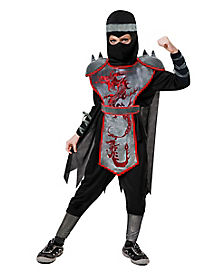 Kids Dragon Ninja Costume