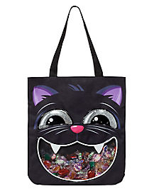 Black Cat Candy Tote Bag