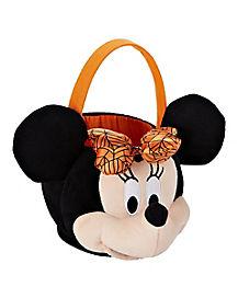 Halloween Minnie Mouse Plush Treat Basket - Disney