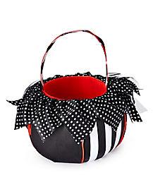 Twisted Circus Plush Treat Bucket