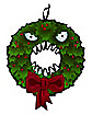 Monster Wreath - The Nightmare Before Christmas