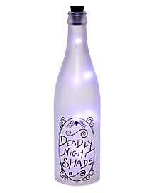 Light-Up Deadly Night Shade Bottle - The Nightmare Before Christmas