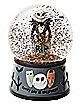 Musical Jack Skellington Snow Globe - The Nightmare Before Christmas