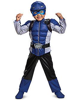 Toddler Beast Morpher Blue Ranger Costume - Power Rangers