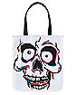 Skull Window Tote Bag