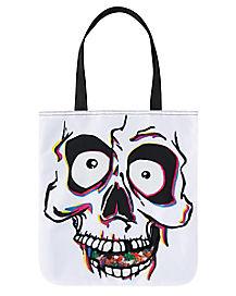 Skull Window Tote Bag