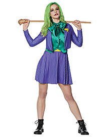 Adult Joker Tie Dress – Batman