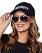 Black Security Hat