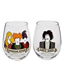 Hocus Pocus Stemless Glass Set - Disney