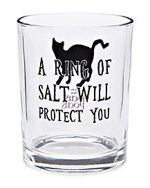 Ring of Salt Binx Glass - Hocus Pocus