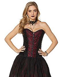 Adult Vampire Lace Corset