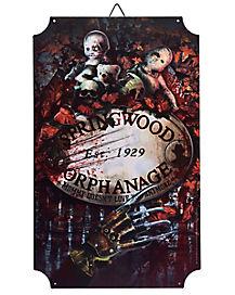 Springwood Orphanage Sign - A Nightmare on Elm Street