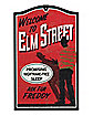 Welcome to Elm Street Sign - A Nightmare on Elm Street