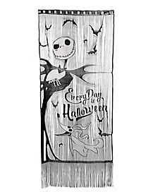 6 Ft. Jack Skellington Lace Curtain - The Nightmare Before Christmas