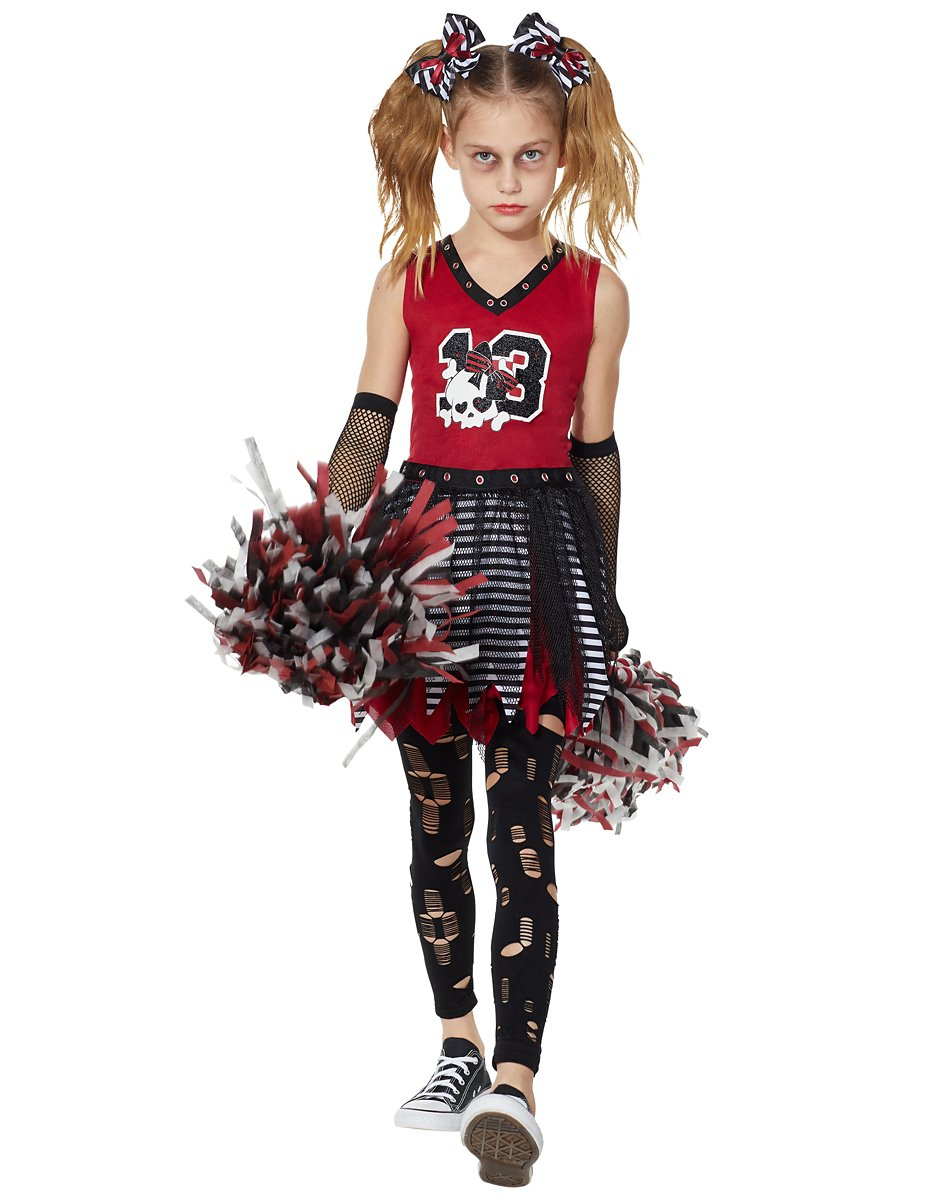 Kids Zombie Cheerleader Costume