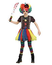 Kids Krazed Clown Costume