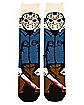 360 Jason Crew Socks - Friday the 13th