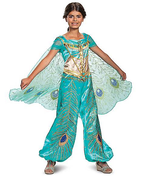 Toddler Jasmine Costume Deluxe Aladdin Live Action