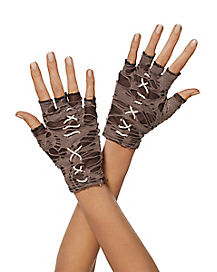 Tattered Witch Doctor Gloves