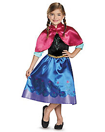 Kids Anna Classic Costume - Frozen