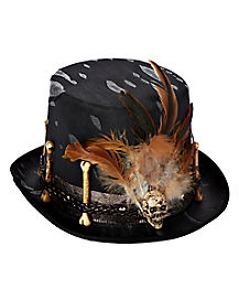 Witch Doctor Top Hat Deluxe