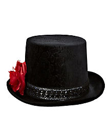 Sugar Skull Top Hat