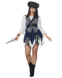 Adult Castaway Beauty Pirate Costume - The Signature Collection