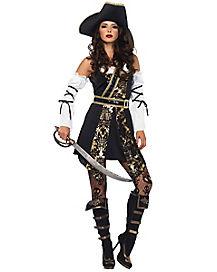 Adult Black Sea Buccaneer Costume