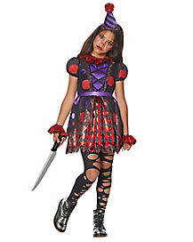 Kids Dot The Clown Costume