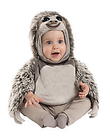 Baby Faux Fur Sloth Costume