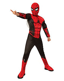 Kids Black and Red Spider-Man Deluxe Costume - Spider-Man: Far From Home