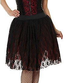 Victorian Vampire Layered Skirt