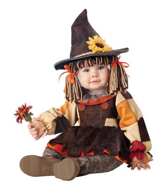 Baby Pumpkin Patch Scarecrow Costume