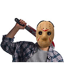 Jason Voorhees Mask and Machete Kit - Friday the 13th